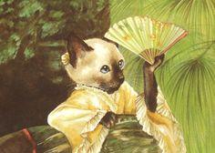 """""""The Fan (James Tissot)"""" par Susan Herbert"""