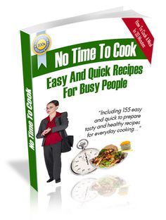 Great time saver, and yummie recipes for every day cooking!