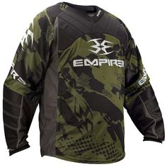 Empire 2012 Prevail TW Paintball Jersey - Olive EMPIRE-2012-PREVAIL-TW-JERSEY-OLIVE