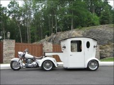 indian trike | dan disimile , harley trike , the bridal carriage