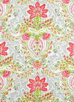 """Crystal Vision Petal -  Dena Home Fabric, beautiful floral print from Through The Looking Glass Collection, drapery fabric, light use upholstery fabric, pillow fabric, headboard fabric. 55% linen, 45% rayon. Repeat; V 25.25"""" - H 13.5"""". 54"""" wide. Permission has been granted by DENA HOME to display copyrighted designs. Product Designs © DENA HOME. All rights reserved."""
