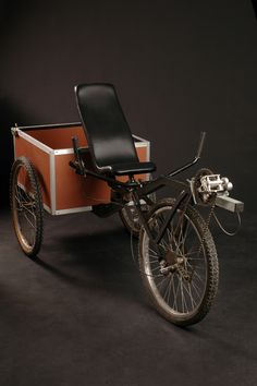 Mark Donde-Recumbent Cargo Bike/ extra storage/possible slide out kitchen with tear drop bike trailer attached. yes!!