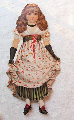 Vintage Victorian Paper Doll Set Cinderella Raphael Tuck Prince Princess Serie | eBay