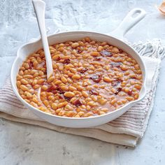 Smoky Chipotle Baked Beans Recipe, lower sugar, pumped up chipotle and paprika