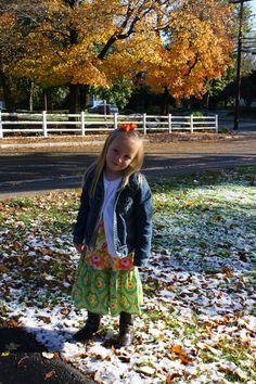 Snow in Massachusetts...in October!