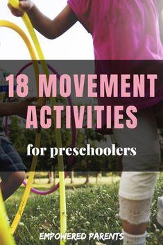18 Simple Movement Activities for Preschoolers