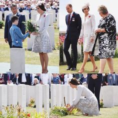 """The Duchess laid a posey as William read: """"A Soldier of The Great War Known Unto God. via ✨ @padgram ✨(http://dl.padgram.com)"""