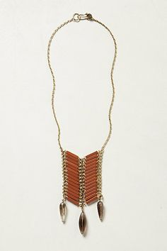 Quilled Tiles Necklace #anthropologie