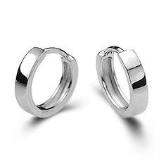 DIB Men Women 925 Sterling Silver Stud Earrings Hoop Huggie Gifts >> LEARN ADDITIONAL INFO @: http://splendidjewelry4u.com/dib-men-women-925-sterling-silver-stud-earrings-hoop-huggie-gifts/