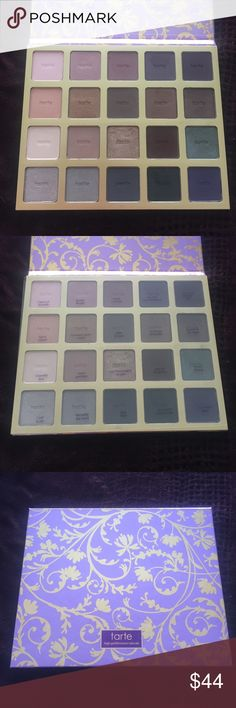Tarte Holiday 2014 Bon Voyage Palette Limited edition Tarte Holiday 2014 eyeshadow palette. Comes with palette only. Mostly unused. A few shades have been swatched and 3 shades have been used a couple times. Still has cover sheet that has all the shade names on it. Not interested in trading. tarte Makeup Eyeshadow