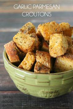 Garlic Parmesan Crou