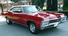 1967 Chevrolet Impala SS Fastback Coupe (a numbers matching 396 - 4 Speed)