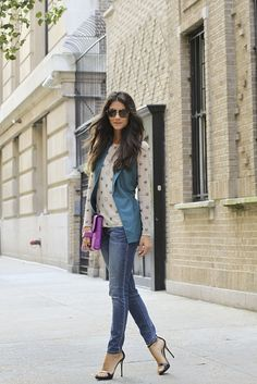 Spicing up jeans <3 Fashion Style