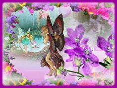 Butterfly Fairy, 1, Blog, Painting, Faeries, Wolves, Painting Art, Blogging, Paintings