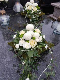 Funeral Flower Arrangements, Funeral Flowers, Floral Arrangements, Flower Decorations, Christmas Decorations, Floral Wreath, Bouquet, Paper Crafts, Wreaths