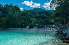 Thassos island.