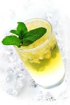 lemon mint julep by Agnieszka Hermann, via Flickr