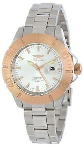 New-Invicta-Womens-15316-Pro-Diver-18-K-Gold-Plated-Rose-Gold-Ion-Watch-495