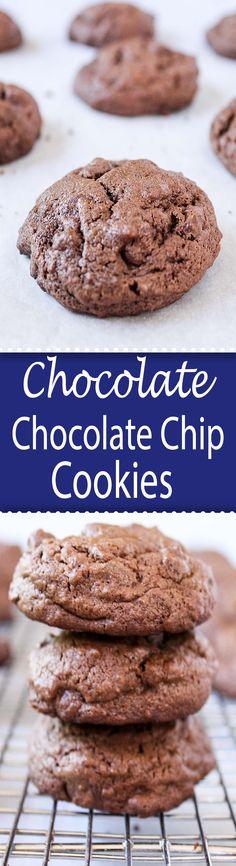 Chocolate, Chocolate Chip Cookies