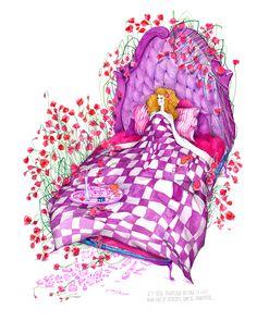 Heart-melting lovely illustrations from Madalina Andronic - ego-alterego.com