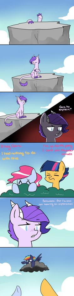 spike and rarity's daughter, pinkie pie's daughter, twilight and flash sentry's son, and Rainbow Dash's son