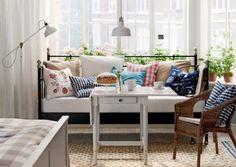 Eine schicke Entspannungsecke im Wohnzimmer