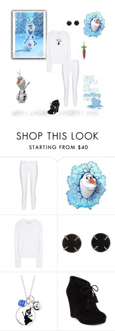 """""""Olaf - Frozen"""" by greerflower ❤ liked on Polyvore featuring 10 Crosby Derek Lam, Disney, 3.1 Phillip Lim, Melissa Joy Manning, Jessica Simpson and Thomas Sabo"""