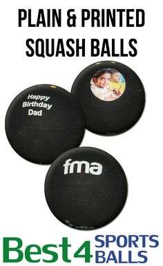 Buy your printed squash balls from Best4SportsBalls.com