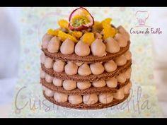 Cupcakes au chocolat et ganache montée au chocolat au lait, Chocolate Cupcakes, كاب كيب بالشوكولاته - YouTube