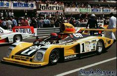 1978 Le Mans Alpine A442 turbo