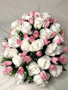 Want to know more about wedding arrangements floral Click the link to get more information Beautiful Flower Arrangements, Wedding Arrangements, Wedding Bouquets, Floral Arrangements, Wedding Flowers, Rose Wedding, Exotic Flowers, Pretty Flowers, Cemetary Decorations