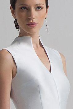Комір . Різновиди конструкцій.: jaskravyjsvit — ЖЖ Dress Neck Designs, Blouse Designs, Tuxedo Dress, Fashion Details, Fashion Design, Classy Dress, Blouse Styles, Dress Patterns, Designer Dresses