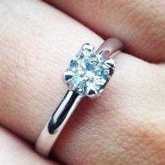 Solitário, noivas, anel, diamante, jóias 96ccb0f3f5