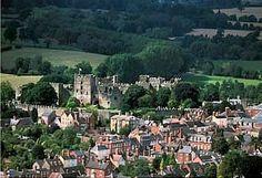 Ludlow Castle distant