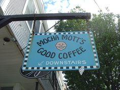 Mocha Mott's Coffee - Oak Bluffs, Marthas Vineyard, Massachusetts