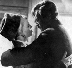 Doctor Zhivago  Yuri and Lara about to kiss Image