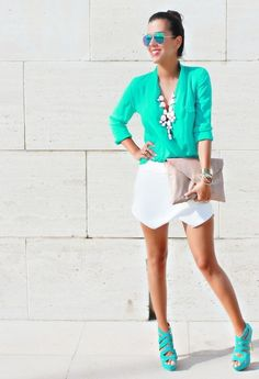 Spring/Summer Trend – Mint Outfit Ideas