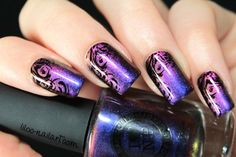 masquerade ilnp liloo nail art un multichrome au top and Mo-you Pro 4