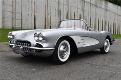 Classic Car News – Classic Car News Pics And Videos From Around The World 1958 Corvette, Chevrolet Corvette, Car Man Cave, Chevy Muscle Cars, Cabriolet, Car Colors, Lifted Ford Trucks, Unique Cars, Chevy Impala