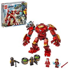 LEGO 76164 Marvel Avengers Iron Man Hulkbuster contre l'agent A.I.M. figurine actionnable Lego Marvel's Avengers, Marvel Avengers Movies, Films Marvel, Iron Man Hulkbuster, Shop Lego, Buy Lego, Iron Men, Lego Ironman, Iron Man Armor