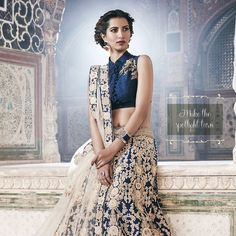 #Dazzling #womens #fashion from the house of #Manyavar