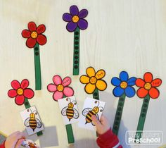 Spring Centers by Play to Learn Preschool