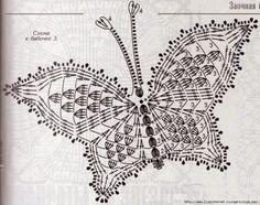 Tra un filo e Altro: Farfalla Crochet