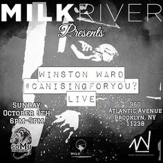 #CanISingForYou ?  I'll Be Singing At Milk River This Sunday!!!! Free Event!!! Pull Up!!!