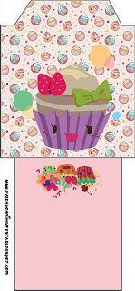 Cupcakes Fofinhos – Kit Completo com molduras para convites, rótulos para guloseimas, lembrancinhas e imagens! |Fazendo a Nossa Festa Party Sweets, Beach Mat, Outdoor Blanket, Cupcakes, Awesome, Sweet Like Candy, Cakes, Diy Home, Softies