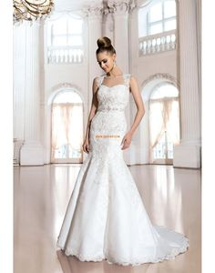 Court Train Spring 2014 Sleeveless Wedding Dresses 2014