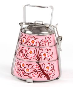 Rose Vintage Tiffin // this is my dream lunch box :)