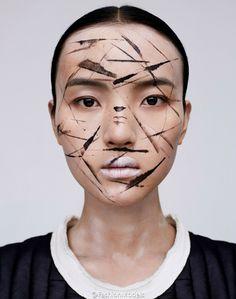 """Harper's Bazaar China Março 2015   """"The Young Girls"""" por Mei Yuan Gui"""