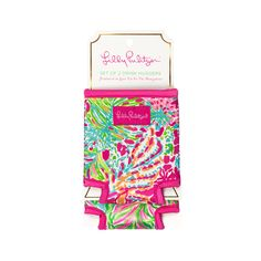 Drink Hugger Set in Spot Ya/Bungalow by Lilly Pulitzer