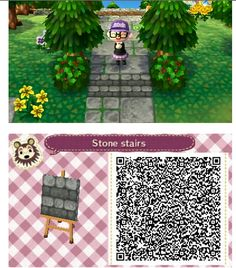 - acnl - Welcome Haar Design Animal Crossing 3ds, Animal Crossing Qr Codes Clothes, Acnl Pfade, Nature Verte, Acnl Paths, Totoro, Motif Acnl, Hogwarts, Ac New Leaf